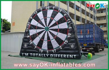 中国 ポリ塩化ビニールの防水シートの膨脹可能なスポーツのゲーム、注文の広告のInflatablesの投げ矢板 サプライヤー