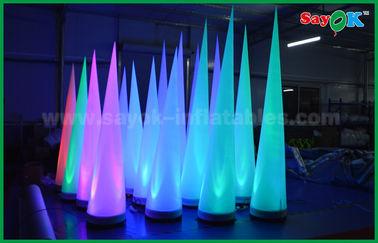 中国 クラブ/昇進のための多彩な照明段階の装飾の膨脹可能な円錐形 サプライヤー