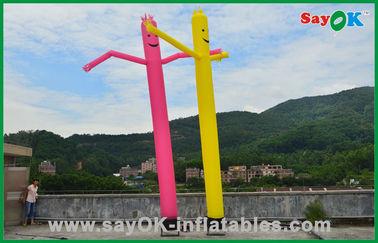 中国 休日の装飾赤い/黄色の膨脹可能な管の人の商業ダンスの空気人 サプライヤー