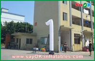 中国 開会式の膨脹可能なダンサーの長い踊る Inflatables の白 工場