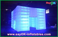 中国 耐久の防水膨脹可能な空気テントは導かれたライトと屋外にです 会社