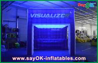 中国 膨脹可能な空気テント ショーの膨脹可能なキャンプ テントをつける虹 会社