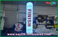 中国 セリウム/UL の送風機が付いているナイロン布の屋外の膨脹可能な装飾 会社