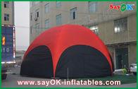 中国 3 つの M の赤い六角形の職業のための大きい屋外の膨脹可能なテント ポリ塩化ビニール 会社
