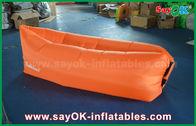 中国 3季節の防水ナイロン布の膨脹可能な空気ソファのたまり場のラウンジ袋1.2kg 会社