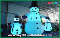 中国 オックスフォードの布の膨脹可能な休日の装飾の党のための巨大なクリスマスのスノーマン 工場