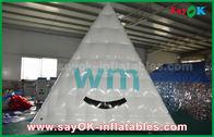 中国 でき事のための昇進の膨脹可能なプロダクトを印刷する防水ポリ塩化ビニールの爆発のピラミッドのロゴ 工場