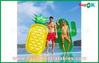 中国 水泳のためのさまざまな形のフルーツの切れのプールの浮遊物の未加工膨脹可能な屋外のおもちゃ 工場