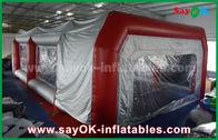 中国 車のペンキの噴霧のための防水膨脹可能な空気テント ポリ塩化ビニールのスプレー・ブース 工場