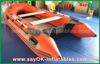 中国 水ゲームSGS ULのための耐久財2 - 4人ポリ塩化ビニールの膨脹可能なボート 工場