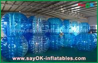 中国 耐久の膨脹可能なスポーツのゲーム/透明なポリ塩化ビニールTPUの膨脹可能な泡球 工場