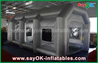 中国 車カバーのためのフィルターが付いている移動式膨脹可能な空気テント/膨脹可能なスプレー・ブース 工場