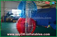 中国 透明なTPUの膨脹可能なスポーツのゲーム、巨大な人体の泡球 工場