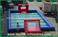 中国 耐久ポリ塩化ビニールの防水シートの膨脹可能なスポーツのゲーム/子供の膨脹可能なサッカー 工場