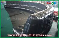 中国 環境に優しい注文の膨脹可能なプロダクト6 - 10m黒は密封状態で0.6mmポリ塩化ビニールの膨脹可能なソファーを密封しました 工場