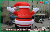 中国 クリスマスの装飾のための大きく美しい屋外の膨脹可能なサンタクロース 工場