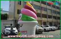 中国 巨人は膨脹可能なプロダクト、/昇進/党のための膨脹可能なアイス クリームを広告カスタマイズしました 工場