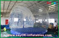 中国 3m Diaの広告のための膨脹可能な休日の装飾/透明で膨脹可能なChrismasの雪の地球 工場