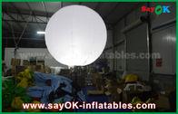 中国 習慣1.5m DIAの広告のための膨脹可能な照明装飾、三脚が付いている立場の気球 工場