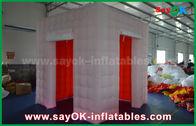 中国 2つのドア/膨脹可能なテントが付いている膨脹可能な写真ブースをつけるLED 工場