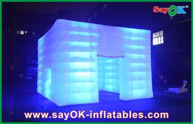 耐久の防水膨脹可能な空気テントは導かれたライトと屋外にです