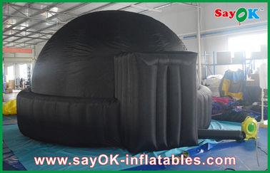 学校/空気ドームのテントのための可動装置 5m の巨大で黒く膨脹可能なプラネタリウム