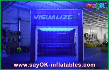 膨脹可能な空気テント ショーの膨脹可能なキャンプ テントをつける虹