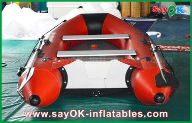 0.9mmポリ塩化ビニールの膨脹可能なボートのアルミ合金の床4-6人のカヌーをこぐカヤック