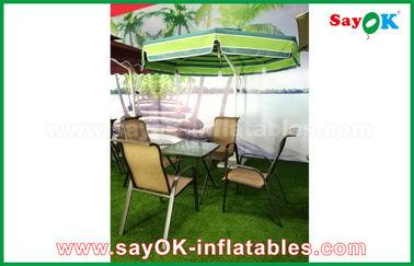 屋外の庭の日曜日の片持梁テラスの傘190Tのナイロン材料を浜に引き上げて下さい