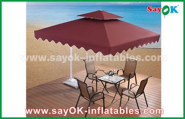 2.5 * 2.5M広告の日傘浜の庭のテラスの傘