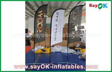 昇進/広告のための携帯用膨脹可能な空気ナイフの旗の折るテント