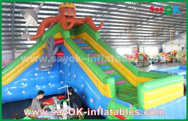 遊園地、膨脹可能な跳ね上がりの城のための巨大な安全膨脹可能な警備員