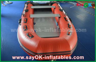 アルミニウム床およびかいが付いている耐久の防水シート ポリ塩化ビニールの膨脹可能なボート