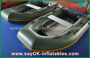 ボート0.9/アルミニウム床/かいが付いている1.2 mmを防水シート ポリ塩化ビニールInflatabeの緑化して下さい
