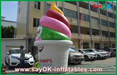 巨人は膨脹可能なプロダクト、/昇進/党のための膨脹可能なアイス クリームを広告カスタマイズしました