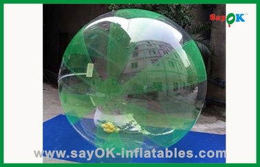 1.8M 水公園のために歩く巨大で膨脹可能な Zorb の球ポリ塩化ビニール TPU 人間水