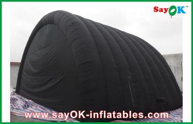 オックスフォードの布が付いている黒い防水膨脹可能な空気テントおよび Ourdoor のためのポリ塩化ビニールのコーティング