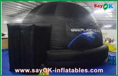 学校の膨脹可能なプラネタリウム、耐火性の膨脹可能な投射のドームのテント